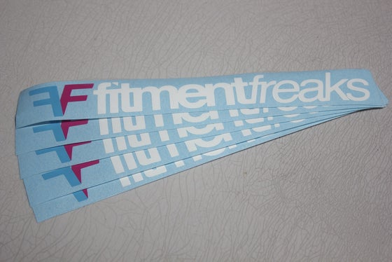 Image of Fitment Freaks Logo Sticker