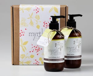 Image of Gift Box - Body Wash & Body Lotion	- Mandarin, Lemon Myrtle & Orange Peel