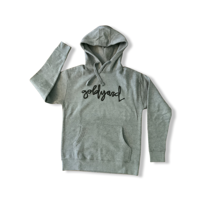 Image of Limited Edition Goldyard Logo Hoodie (Gray)