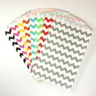 Image of MEDIUM CHEVRON FAVOR BITTY BAGS: 20