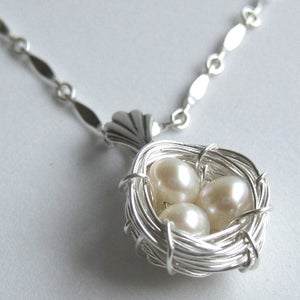 Image of Goldfinch Nest Necklace