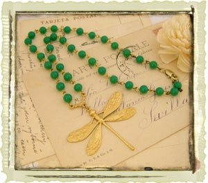 "Image of ""Green Rosary Dragonfly"""