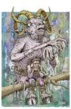 'The Goat Man' print