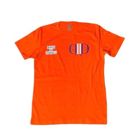 Orange Logo T Shirt