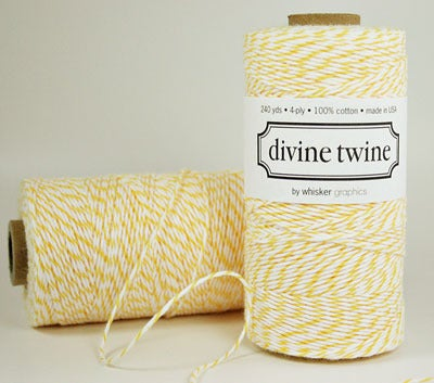 Image of Baker's Twine: Lemon Yellow