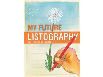 Image of MY FUTURE LISTOGRAPHY JOURNAL