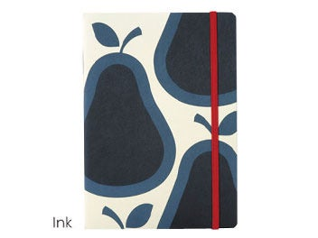 Image of ORLY KIELY PEAR NOTEBOOK INK