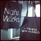 Image of I Tried So Hard tote bag