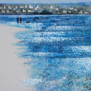 Image of North Brittany - Tide turning in the bay, Locquirec