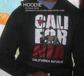Image of BLACK CALIFORINA HOODIE
