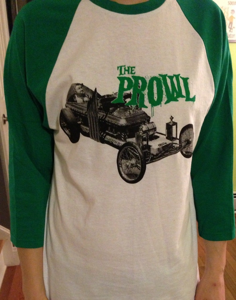 Image of The Prowl - Grandpa Munster Baseball T