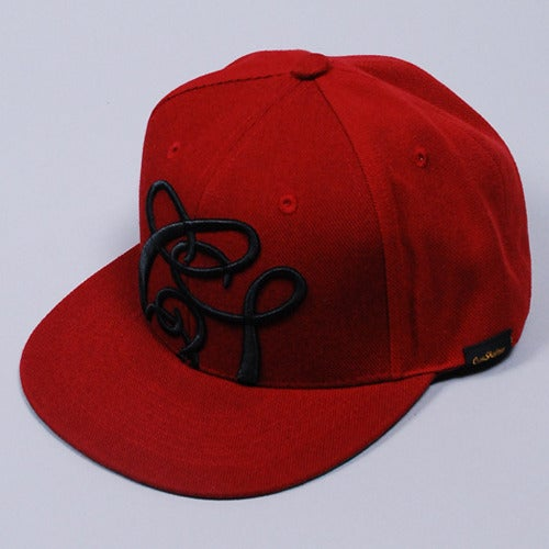 Image of Quicksand Snapback Cap (Burgundy)