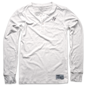 Image of PREMIUM AMPERSAND HENLEY (WHITE)