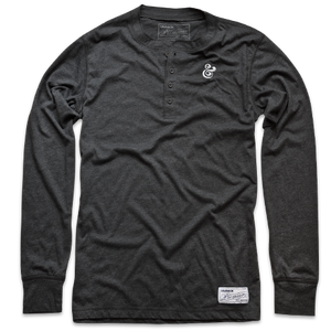 Image of PREMIUM AMPERSAND<BR/>HENLEY (CHARCOAL)