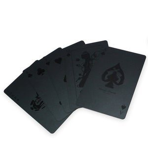 Image of All Black Deck  of Cards