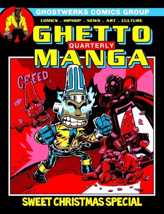 ghettomanga quarterly sweet christmas special