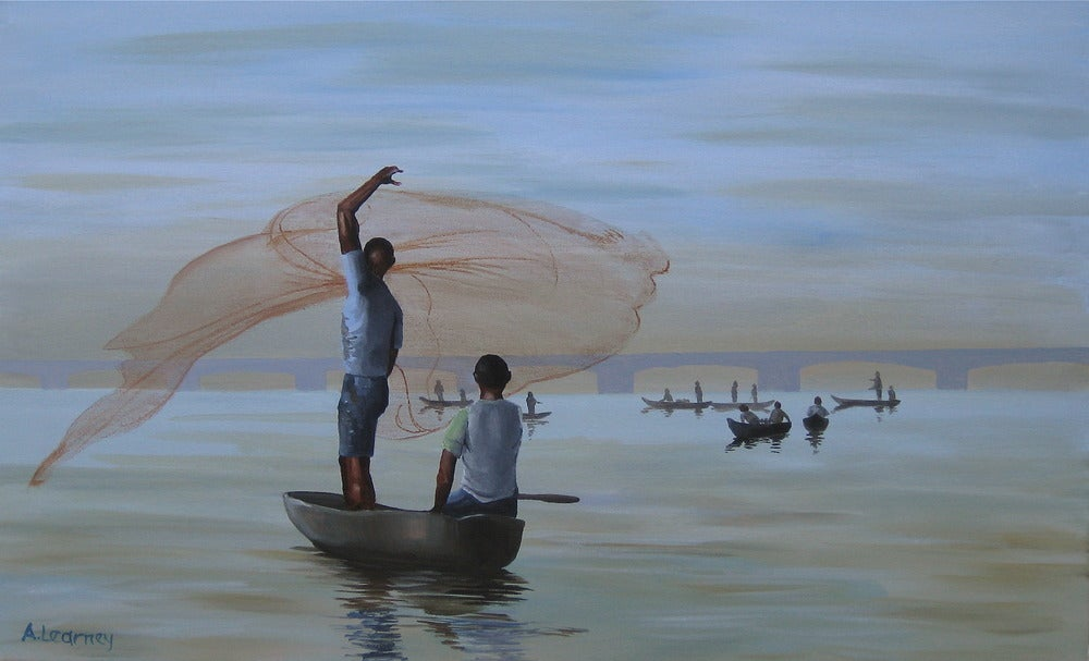 Image of Casting the Net, Print