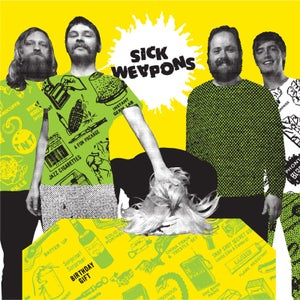 """Image of Sick Weapons """"Birthday Gift"""" LP+download (U+Nfest pickup ONLY)"""
