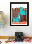 Image of Bird Dog & Bird Nursery Art Print