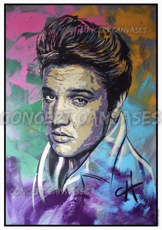Image of Elvis A3 Print