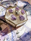 Amethyst cluster ring #3 - set in gold