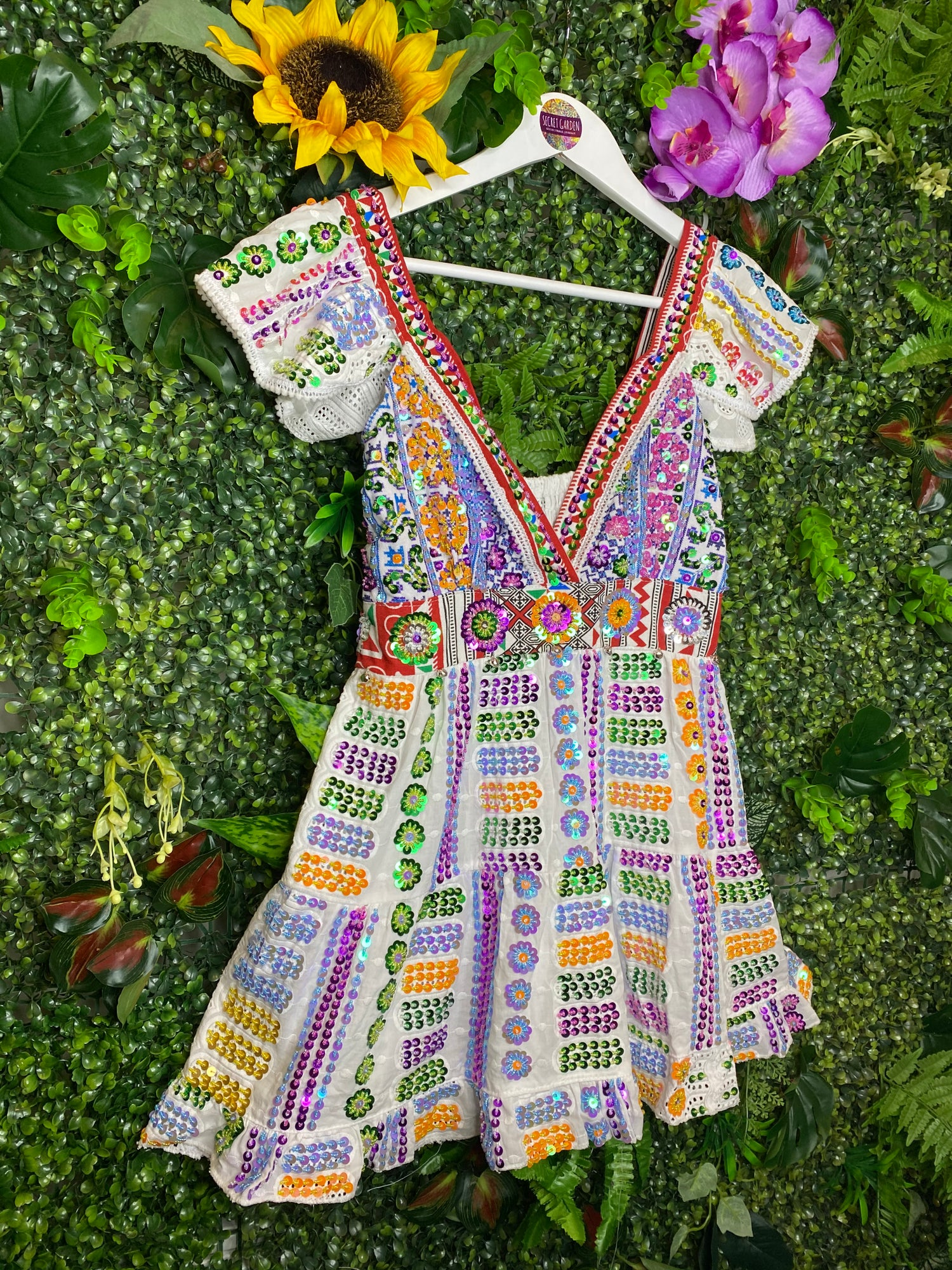 Image of Gypsy Soul Broderie Anglaise Top - Garda