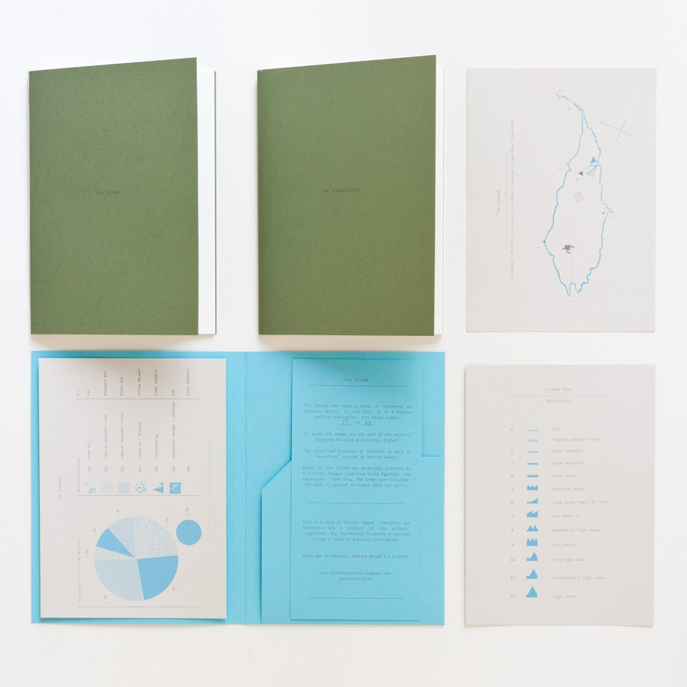 Image of The Island ltd.edition silkscreen-printed publication