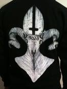 Image of Hoodie - Pope Skull