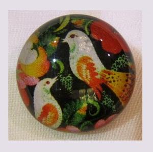 Image of Bouton: Birds art naïf