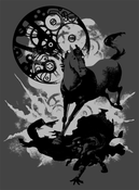 Image of Like Clockwork (Vane Black) T-Shirt