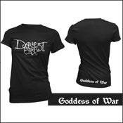 Image of Goddess of War GIRLY T-Shirt