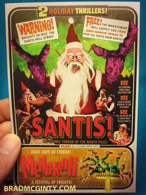 SANTIS! Holiday Cards