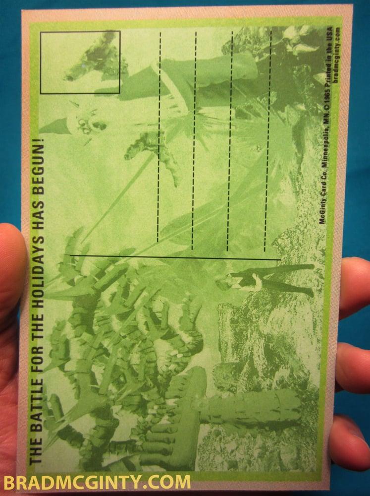 Image of SANTORG vs MENO-RAH Holiday Cards