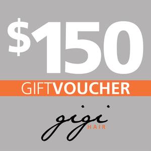Image of $150 Gigi Hair Gift Voucher