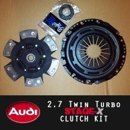 Image of PROJECT:B5 - AUDI 2.7TT STAGE-X Clutch Kit
