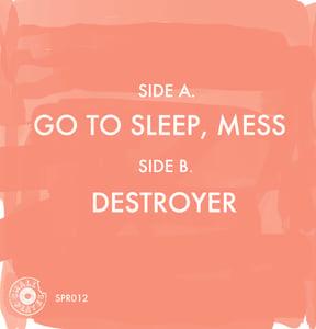 "Image of Day Joy - Go To Sleep, Mess 7"" (SPR012)"