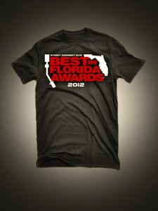 Image of 2012 BEST IN FLORIDA AWARDS SHIRT