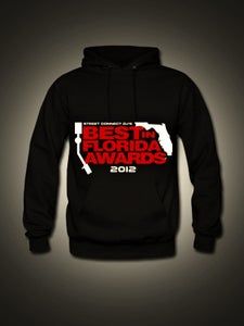 Image of 2012 BEST IN FLORIDA AWARDS OFFICIAL HOODIE