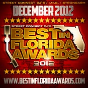 Image of PRE SALE TICKET TO THE 2012 BEST IN FLORIDA AWARDS