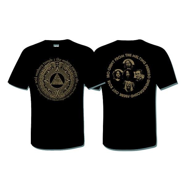 ACID MOTHERS TEMPLE 'IAO Chant 2012' T-Shirt (Black)