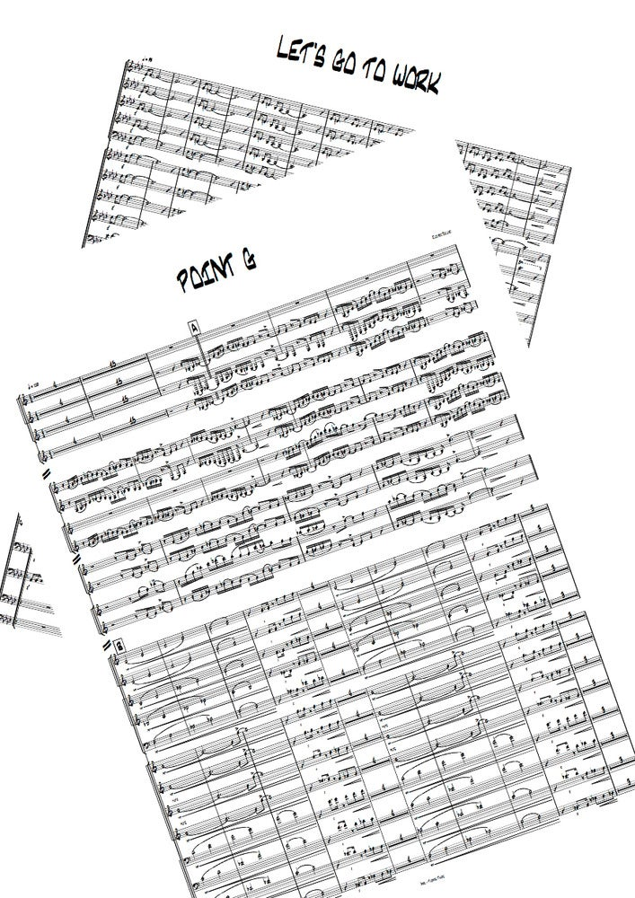 Image of Sheet music pack 2 arrangements for 150€