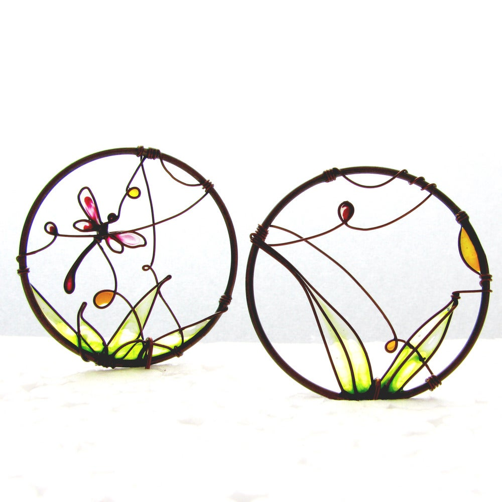 Image of Dragonfly Earrings