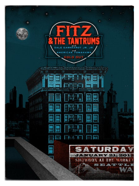 Image of Fitz & The Tantrums Seattle 2012(Saturday)