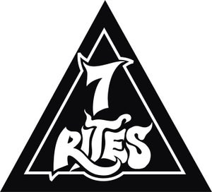 Image of 7RI†ES - EMBROIDERED/TRIANGLE PATCH!