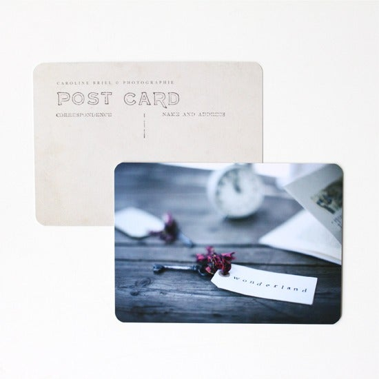 "Image of Carte postale ""Wonderland"""