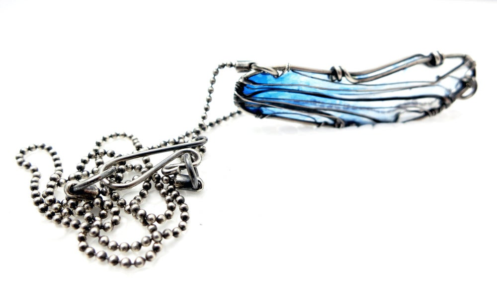 Image of Close Up Dragonfly Necklace