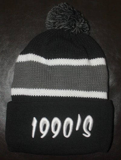 Image of BLACK 1990s #POMBEANIE