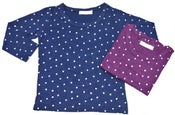 Image of Slub Cotton circular print Tee/竹節棉圓領印花T (code: 095)