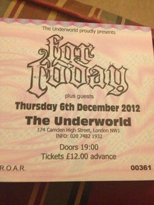 Image of FOR TODAY tickets - Camden Underworld 6th Dec