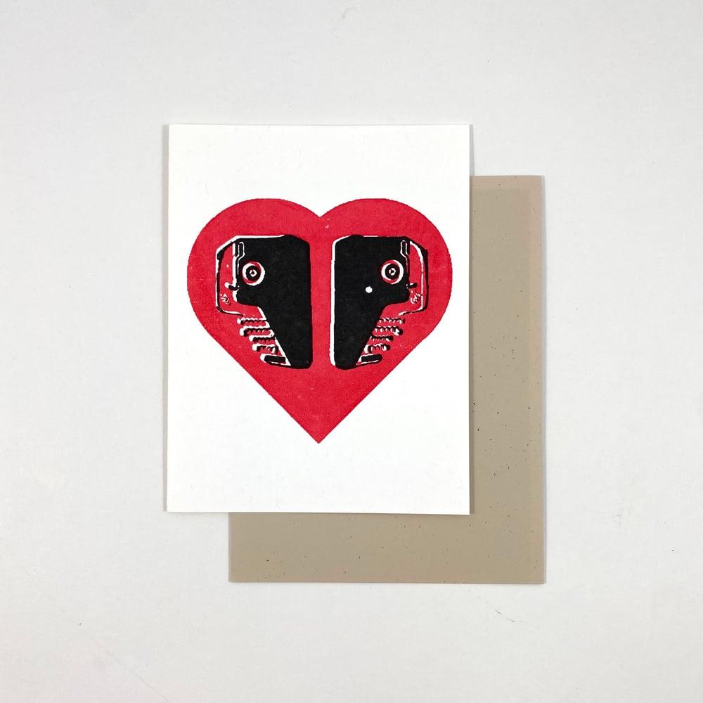 Image of Typewriter Love Card